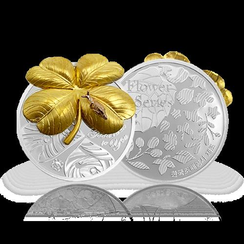 꽃 시리즈 2차 클로버 메달