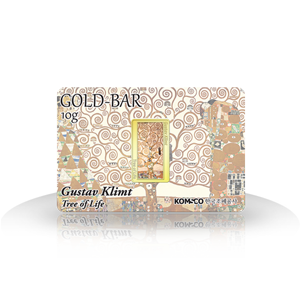 Gold bar Gustav Klimt - Tree of Life (10g)